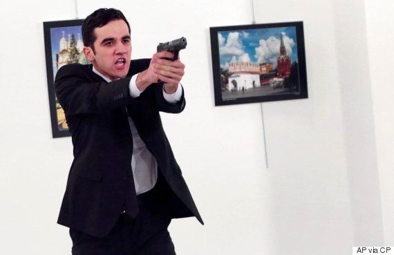 Russian Ambassador Shot In