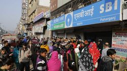 Angry Customers Pelt Stones At SBI Branch In