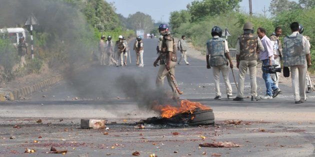 Rapid Action Force Deployed In Violence-Hit