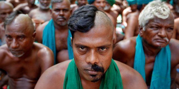 Tamil Nadu Farmers Resume Their Protest In