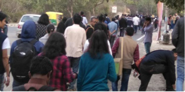 JNU Students Booked For 'Illegally' Occupying Admin