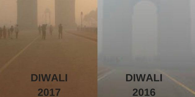 Air Quality In Delhi Was Slightly Better This Diwali, But Is That