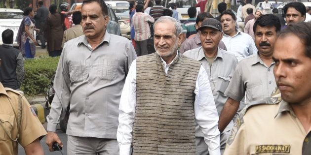 Congress leader Sajjan Kumar in a file