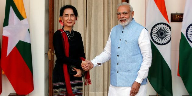 PM Modi Advised Myanmar's Aung San Suu Kyi Not To Destroy Her Image, Says Sushma