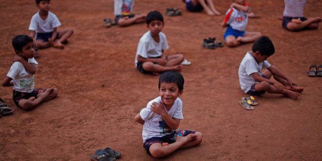 These Kids From Lucknow Are Going Places For International Yoga