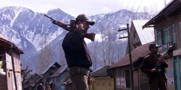 Army Cordons Off Village Near Bandipora In J&K, Terrorist Presence
