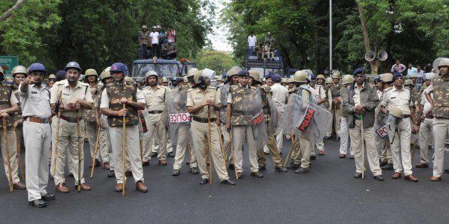 Representational photo of Madhya Pradesh police.