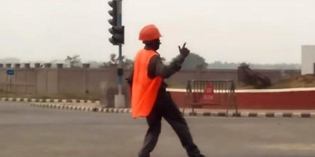 This Traffic Marshall Is Dancing His Way Into People's Hearts In