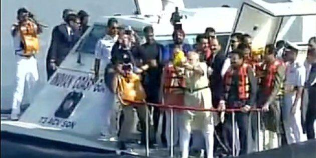 PM Modi Lays Foundation Stone For ₹3,600 Crore Shivaji