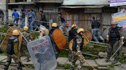 Gorkhaland Supporters Throw Stones At Police On Day 2 Of Bandh In