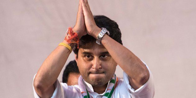 Congress MP Jyotiraditya Scindia Arrested On Way To Violence-Hit
