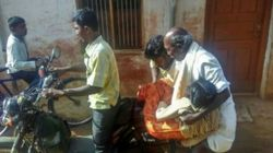 Unavailability Of Ambulance Forces Father To Carry Daughter's Dead Body On Moped In