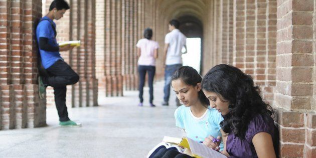 REPRESENTATIVE IMAGE: Group of students studying in