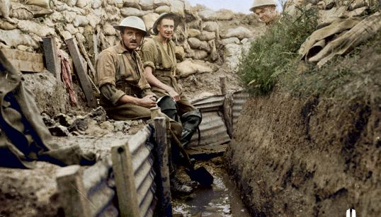 Vimy Foundation's 'Great War In Colour' Project Includes Colourized Photos From First World