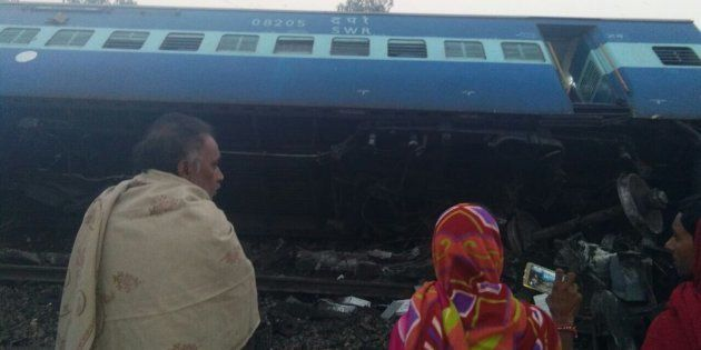 Vasco Da Gama-Patna Express Jumps Rails In UP; 3 Dead, 9