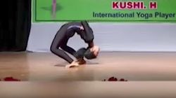 WATCH: Mysuru Teenager Set Yoga World Record By Performing This Aasana 15 Times In One