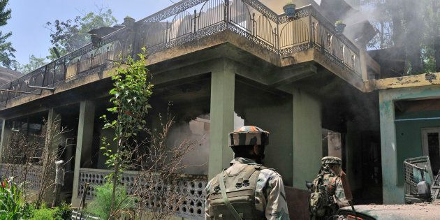 Civilian Killed In Gunfire Exchange Between Militants And Security Forces In
