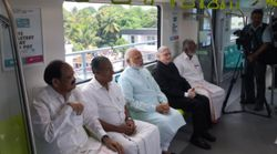 PHOTOS: Prime Minister Narendra Modi Inaugurates Kerala's First Metro In