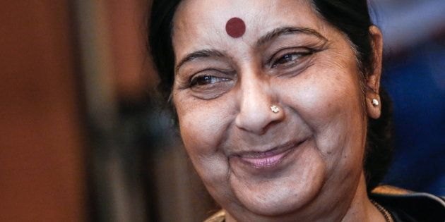 'These Are Rumours', Sushma Swaraj Dismisses Reports Of Being In The Presidential