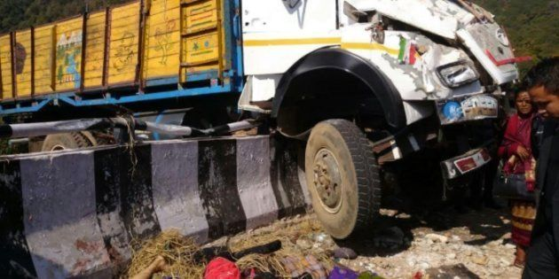 16 Killed, 50 Injured As A Church-Bound Truck Rams Into Concrete Barricade In