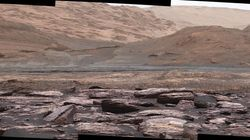 NASA's Curiosity Rover Has Just Discovered Purple-Hued Rocks On
