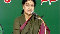 'Chinnamma' Sasikala Takes Over As AIADMK