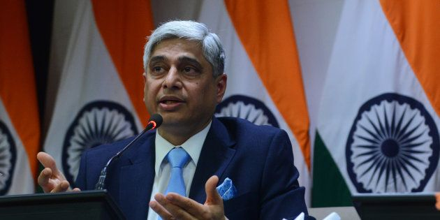 Former spokesperson of External affairs (MEA) Vikas Swarup addressing the