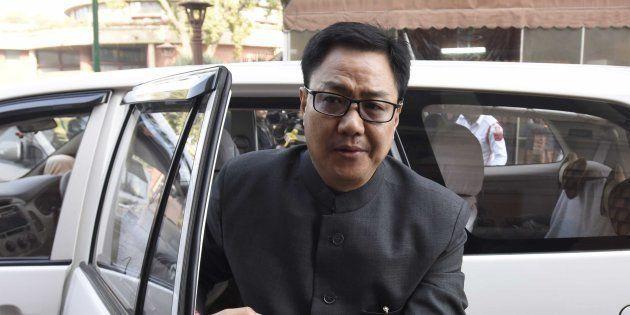 Union Minister Kiren Rijiju Had Not Even Seen Gurmehar Kaur's Video On Indo-Pak Peace, But Called Her...