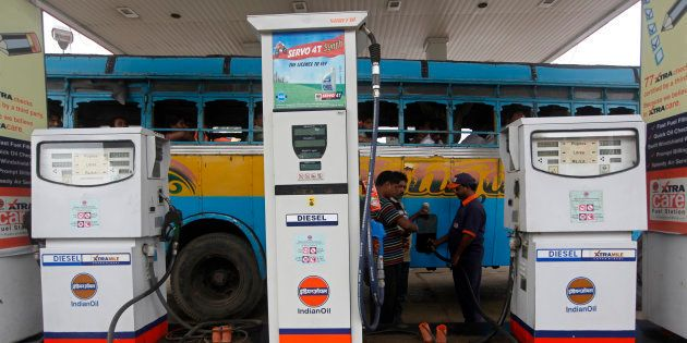 Petrol Price Hiked By ₹1.29 A Litre, Diesel By 97