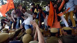 'Shoot Down Anti-Nationals' Slogans Raised At ABVP Protest In
