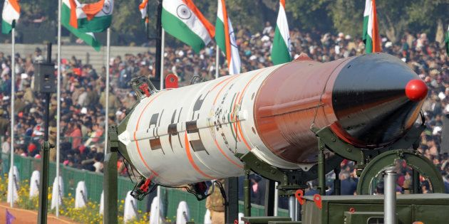 Nuclear-Capable Agni-IV Missile Successfully