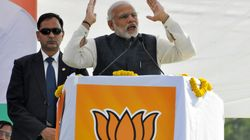 Development Isn't UP Govt.'s Priority, Modi Taunts SP, BSP At Lucknow