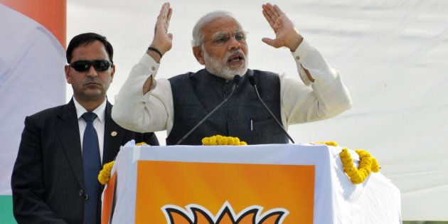 Development Isn't UP Govt.'s Priority, Modi Taunts SP, BSP At Lucknow