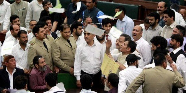 Opposition Insulted The National Anthem By Creating A Ruckus While It Was Playing: J&K