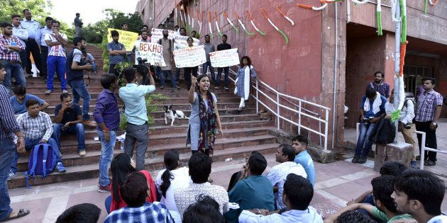 JNU Adjudged 'Best University 2017' By Pranab Mukherjee Instituted Visitor's