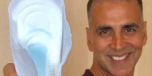 Posing With Napkins For Akshay Kumar's 'PadMan' Is A Good Idea, But Indian Men Need To Go Beyond