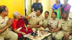 83-Year-Old Gets A Surprise Birthday Party From Mumbai