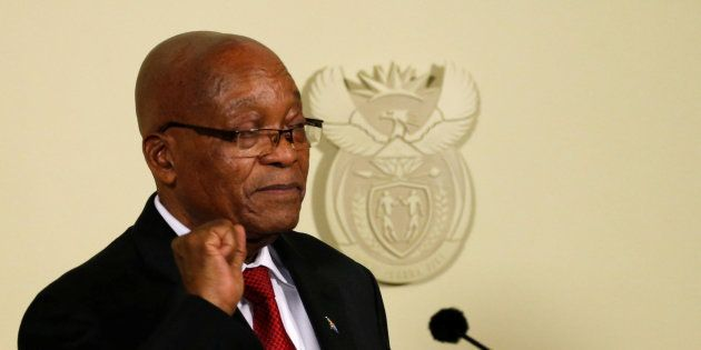 Jacob Zuma Resigns As President Of South
