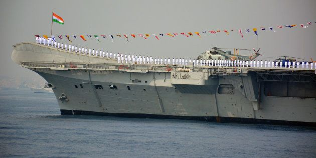 Aircraft Carrier INS Viraat, Perhaps The Oldest Warship Still In Service, Sails Into The Sunset Next