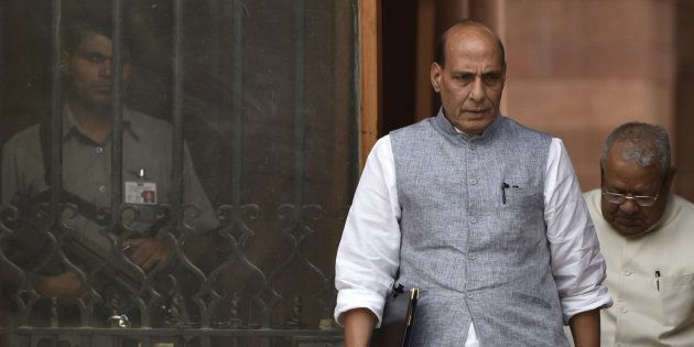 Fight Between Father And Son In SP Is Painful, Says Home Minister Rajnath