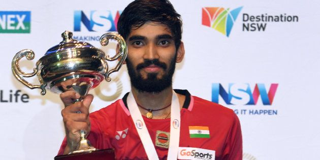 Congratulations Pour In For Australia Open Super Series Winner Srikanth