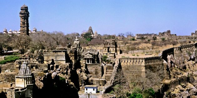 Rajasthan's Chittorgarh Fort Vandalised Allegedly By Sanjay Leela Bhansali's