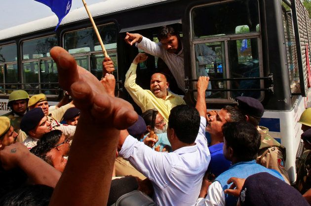 7 Reported Dead As Dalit Protests Across Country Against SC Ruling Turned
