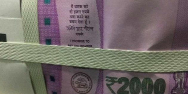 Mahatma Gandhi missing from new Rs 2000 notes in