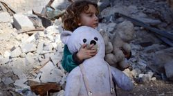 Syrian Children Showing Signs Of 'Toxic Stress', Attempting Self-Harm And Suicide, Says