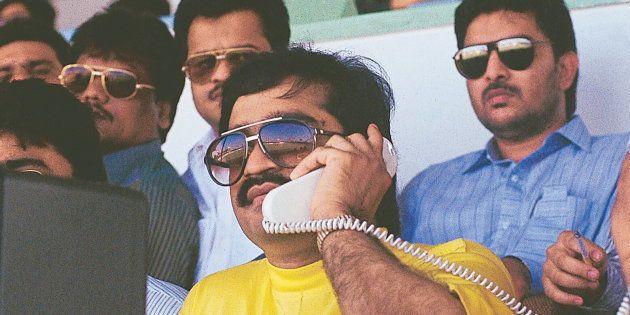 INDIA - OCTOBER 02: Dawood Ibrahim, the mafia leader in Sharjah, United Arab Emirates ( mafia don ) (Photo...