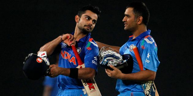 You Will Always Be My Captain: Kohli To