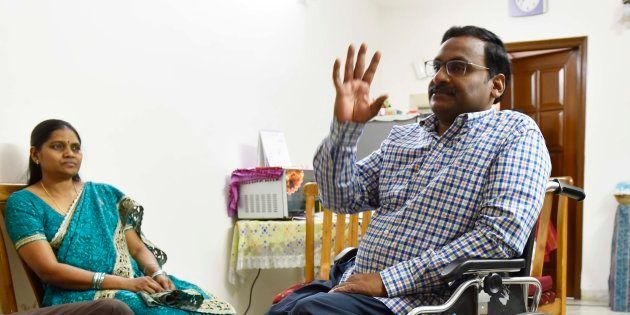 I Have Fire In My Eyes, Not Tears, Says Convicted Professor GN Saibaba's