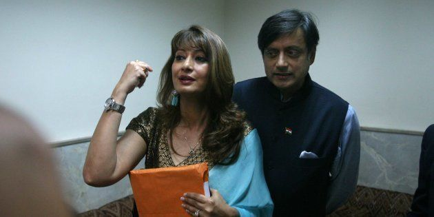Delhi Police Reads Out Sunanda Pushkar's Last E-mail To Shashi Tharoor, Court To Decide On Chargesheet...
