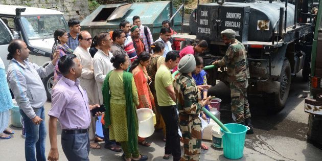 Forget Catering To Tourists, Shimla Is Shutting Down Schools Because Of The Water